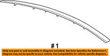 Mercury FORD OEM 10-11 Milan Hood-Front Molding Trim 9N7Z16856A