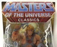 Masters of the Universe Classics HE-MAN Action Figure MOTUC Matty Mattel New MOC