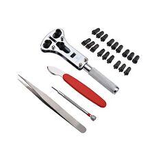 Zeiger Professional Watch Repair Tool Kit, Watch Band Spring Bar Link Pin Adj...