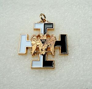 Freemason Jewel Pendant Masonic 30th Degree Templar Knight Kadosh #422a