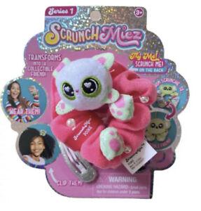 Scrunchmiez Series 1 Pookie #22 Pink Hair Scrunchy Backpack Clip Bracelet Toy