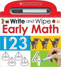 Scholastic Early Learners: Write and Wipe Early Math 123 by Inc. Staff...