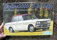 NISSAN SKYLINE 2000GT-B S54B 1/24 MODEL KIT FUJIMI JAPAN