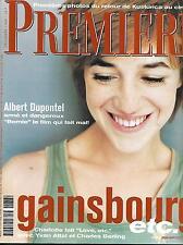 PREMIERE Nº237 DICIEMBRE 1996 GAINSBOURG/DUPONTEL/KUSTURICA/CARPINTERO/CHEUNG