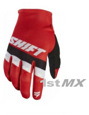 Shift WHIT3 Label Air Motocross OffRoad Race Gloves Red Black White Adults XXL