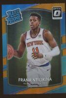 2017-18 Donruss Optic FRANK NTILIKINA Orange Rated Rookie #193 Knicks