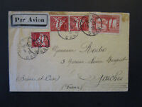 French Algeria 1938 Airmail Cover to France - Z5429