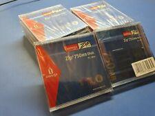 Lote 10 discos IOMEGA ZIP 750Mb - Nuevos sin abrir