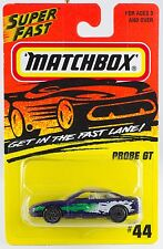 Matchbox MB 44 Probe GT New On Card 1996