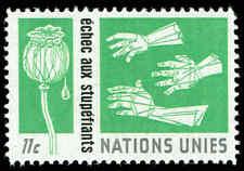 Scott # 132 - 1964 - ' Hands Reaching For Opium Poppy '