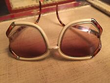 Vintage TED LAPIDUS Retro OVERSIZED 70s 80s Designer  Sunglasses Perscription