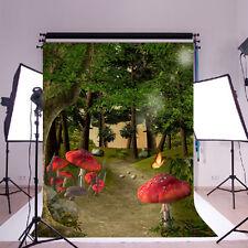 3X5ft Forest Woodland Vinyl Photography Background Backdrop Photo Studio Props