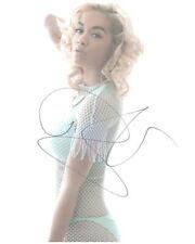 Rita Ora signed autograph UACC AFTAL online COA