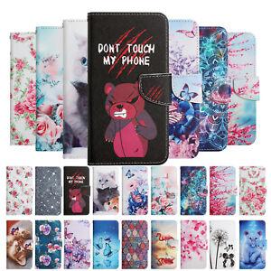 For LG Velvet 5G Stylo 7 6 K52 K22 Case Painted Leather Wallet Flip TPU Cover