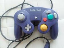 USED Official Genuine OEM Nintendo GameCube Controller Indigo Purple DOL-003