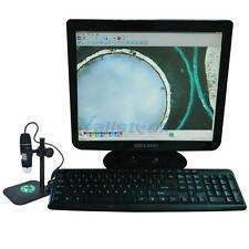 Protable 1X-500X Zoom 2.0MP USB Microscope Endoscope Loupe Camera Video Stand