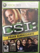 Microsoft Xbox360 Xbox 360 CSI Crime Scene Investigation:Prova Schiacciante>ITA<