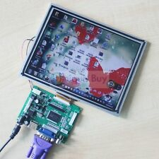 HDMI+VGA+2AV+Revering Driver Board + NEW 8inch 800*600 AT080TN52 LCD For Rasp