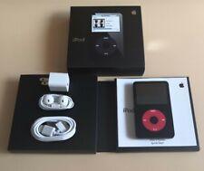 New-Apple iPod Classic Vdieo 5th Generation U2 Special Edition Black/Red (30 GB)