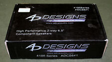 """New listing Ad Designs 4100 Series Adcs641 High Performance 2-Way 6.5"""" Component Speakers!"""