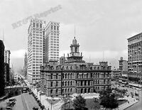 Photograph of Detroit City Hall Campus Martius Park Year 1910 8x10