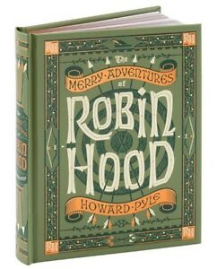 THE MERRY ADVENTURES OF ROBIN HOOD by Howard Pyle ~ NEW ~SEALED ~ Leatherbound~