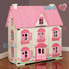 New Rosebud Kids GIRLS Wooden Dolls House Miniature FULL Furniture