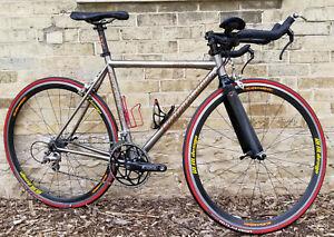 Quintana Roo Santo Triathlon Bike - Titanium Frame -53cm