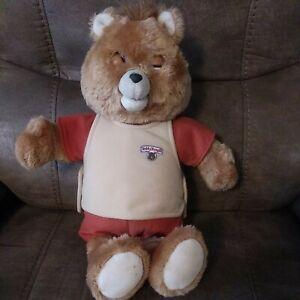 Vintage Teddy Ruxpin Talking Bear World of Wonder & Cassette Parts/Repair 1985