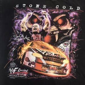 Vintage 90s Stone Cold Steve Austin WWF Wrestling Jersey 1999 XL Very Rare 3:16