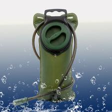 Hiking 2L Water Bladder Hydration Pack Reservoir Bag Sack Backpack Top Quality