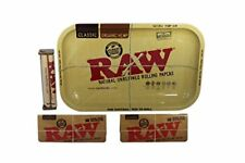 4 pcs Raw Rolling Tray Hemp Roller Machine Cigarette Weed KIT King Size Papers