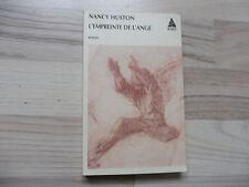 L'EMPREINTE DE L'ANGE - Nancy HUSTON, Babel