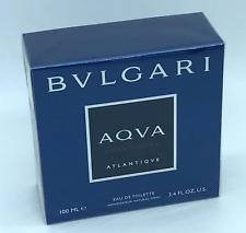 100ml Bvlgari Aqva Atlantique Eau de toilette EDT Perfume Hombre 3.3 oz