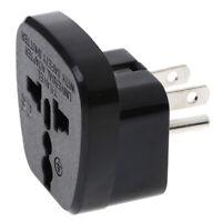 Universal EU UK AU to US USA Canada AC travel power plug adapter converter EP