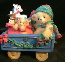 Cherished Teddies Cindy #219177 - This Train Is Bound For Holiday Surprises
