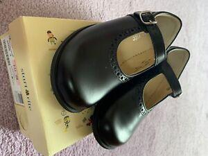 Girls Startrite School Shoes Black Size 10G