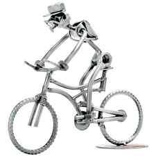 Original Schraubenmännchen Mountainbike Fahrrad Skulptur Radfahrer Geschenke