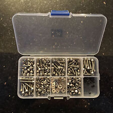 ISTOX M3 Stainless Steel Cap Head Bolt, Nuts & Washers Kit Ideal for 1/10 & 1/12