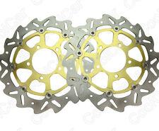 Front Brake Disc Rotor For Kawasaki 04-07 ZX10R&07-10 Z750 Z1000 05-11 ZX6R Gold