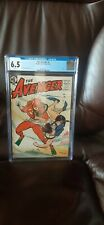 RARE GOLDEN AGE COMIC THE AVENGER #2 CGC 6.5 1955 WHITE PAGES!