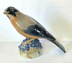 ROYAL COPENHAGEN FIGURE OF A REDWING BIRD NO 1235