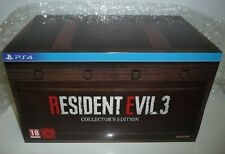 RESIDENT EVIL 3 REMAKE COLLECTOR'S EDITION  SONY PS4  NEW PAL RARE
