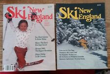 1986 &1987 Ski New England Mags. Winter Ed. Ex/Mint A Look At Skiing 30+Yrs Ago!