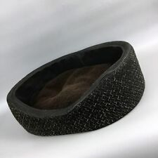 RARE $1240 Bottega Veneta Luxury Braided Leather Cushion Dog Pet Bed Accessories
