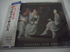 BLACK SABBATH-Heaven And Hell JAPAN Press w/OBI 23PD-123 Tony Iommi Dio