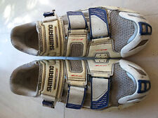 Chaussures cyclisme vélo SHIMANO R220 semelles CARBONE Custom fix pointure 43