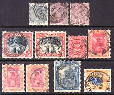 JAMAICA #20,24,32,59,76,79,217, 1885-1964 LOT/11, F, USED