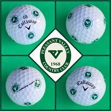 (1) Callaway Chrome Soft TRUVIS Golf Ball - Pleasant Valley Country Club - USA