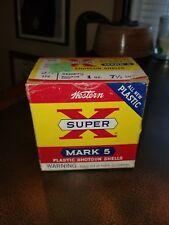 Mark 5 SUPER X empty 12 GA  SHOTGUN SHELLS shot shell box AMMO ORIGINAL
